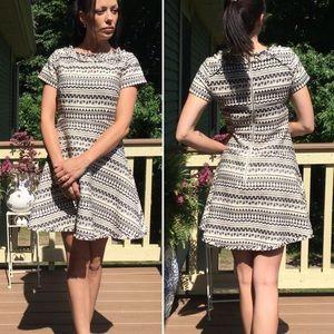 Banana Republic Short Sleeve Dress size 4 Tweedish